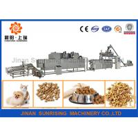 Buy cheap 380v 22kw Pet Food Production Line High Efficiency 120 - 150kg / H 12000 * 4000 from wholesalers