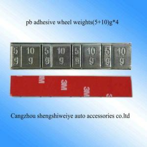 China Pb Stick On Wheel Weight on sale