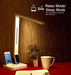 Buy cheap タイマーを離れて4 CCT 9のレベルの明るさの自動車をつなぐUSB Iphoneが付いている2016年の昇進ULの承認LEDの電気スタンド product