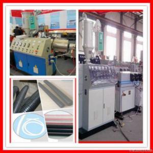 Buy cheap Single Wall Corrugated Pipe Making Machine product