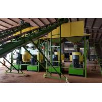 Buy cheap Cow dung fertilizer pellets production line with 1-5T/H capacity product