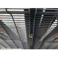 Buy cheap HDG High security density mesh security fencing Panels 2400mm x 2515mm wire diameter 4.00mm from wholesalers