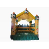 Buy cheap Football Kids Inflatable Bounce House Castle Digital Printing 4 X 4m For Amusement Park product