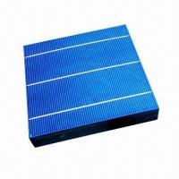 Buy cheap 2012 High Efficiency Polycrystalline Photovoltaic Cells with 4W product