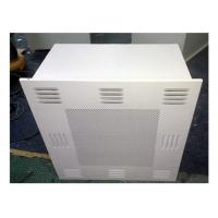 China Customized Dimension HEPA Filter Box / HEPA AIR Diffuser For Clean Room on sale