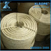 Buy cheap 3 Strand Twisted Natural Sisal Rope in different grade product