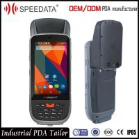 Buy cheap IP65 Laser Handheld RFID Reader , Portable Data Terminal Barcode Scanner Android product