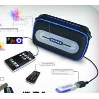 Buy cheap Powerful Portable Speakers bag for USB / SD card AMK-3W1-01  product