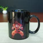 Buy cheap Best Selling Dragon Ball Color Changing Mug Red Goku Magic Mug 300ml / 11OZ product