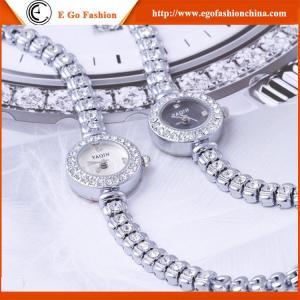 Montres de fausse pierre de diamant de montre de bracelet de femme des montres YQ01 pleines pour Madame Quartz Watch