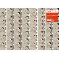 Buy cheap Pretty Christmas Gift Wrapping Paper Moisture Proof With Gold Or Silver Stamp from wholesalers