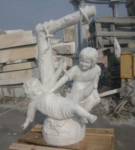 Buy cheap Esculturas preciosas del mármol del bebé product