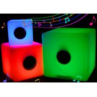 Buy cheap Illuminated Glow Bluetooth LED Music Cube Rechargeable With Colorful Lighting Changing from wholesalers