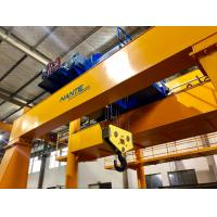 Buy cheap Double Girder Electric Low Headroom Hoist Winch Trolley For Chemical Industry product
