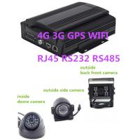 Buy cheap Hybrid HD Mobile DVR 8CH 1080P  4G GPS WIFI rs485 RS232 RJ45 for school  bus product
