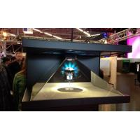Buy cheap Customized 270 Degree 3D Holographic Pyramid Advertisement 1920x1080 Resolution product