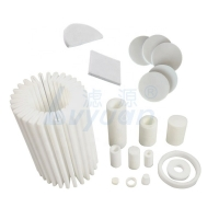 Buy cheap 90um 100um Pleated Filter Element 3 Microns Polyethylene Filters product