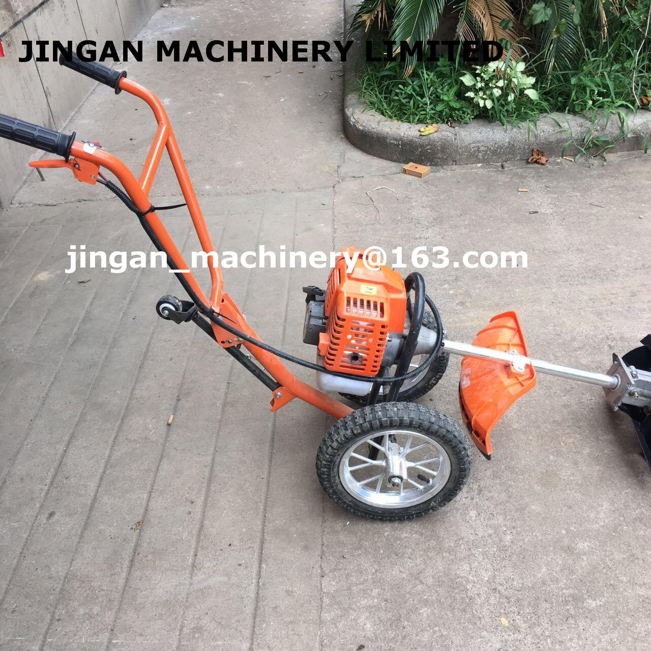 Buy cheap máquina do cortador de escova da grama do impulso da mão 52cc/cortador de grama/ajustador da grama product