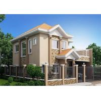 Buy cheap Fireproof Soundproof Prefab Steel House Anti - Pressure Eco - Friendly product