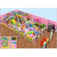 Buy cheap Kids Indoor Soft Blow Up Playground With Candy Theme 3 Years Warranty from wholesalers