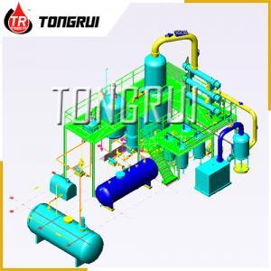 Buy cheap Resource Reuse Vacuum Distillation Equipment Waste Gasoline Diesel Engine Oil Refining product