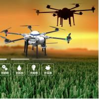 Buy cheap Hexacopter Carbon fiber frame 10kg RC Agricultural Spraying Drone Flying UAV Drone Crop Sprayer On Sale product