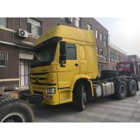 Buy cheap Hard And Firm 6×4 Prime Mover Truck / Optional Color Howo Tractor Truck product