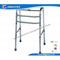 Buy cheap Single Release Folding Rollator Walker With Double Bars FDA CE ISO Approved product