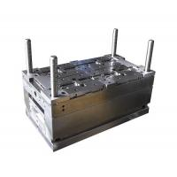 Buy cheap Dark Blue Connection Box OEM Electronic Mould , 1 Cavity Plastic Molded Products from wholesalers