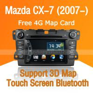 China Car DVD Player for Mazda CX-7 - GPS Navigation Bluetooth PIP USB on sale