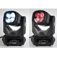 China Stage Light 4 eyes  100W RGBW Super Beam DJ LED Moving Head  Light For Night Culb on sale