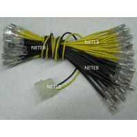 Buy cheap LED lamp Wire with 6.4mm quick connector and MOLEX style connector for illuminated button product