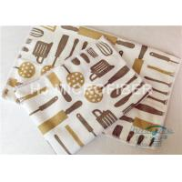 Buy cheap Kitchen Reusable Printed Microfiber Cloth Machine Washable , Microfiber Dust Cloth product