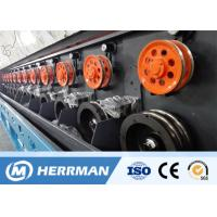 Multi - Head Aluminum Wire Drawing Machine Siemens Motor Fatigue Resistant for sale