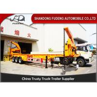Buy cheap 37 / 42 Tons Side Loader Trailer ,40ft Container Carrrying  Side Lifter Truck product