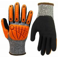 Buy cheap High Dexterity Cut Resistant Anti Impact Gloves TPR Heavy Mechanic Gloves product