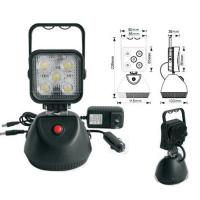 China DC 10-30V 15W rechargeable led work light with magnetic base on sale