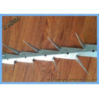 Buy cheap Hot Dipped Galvanized And PVC Coated Black Medium Wall Spikes 0.8mm Thickness product