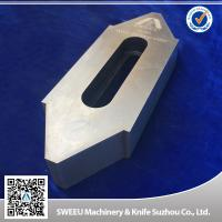 Buy cheap Wear Resistance Plastic Granulator Blades For Copper Cutting High Intensity product