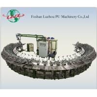 Buy cheap fully automatic Pu shoe soles injection making machine 24/36 mold station product