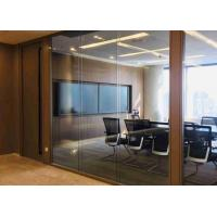 Buy cheap Tempered Demountable Glass Partitions Non Loadbearing Stain Anodized product