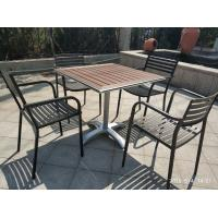 Buy cheap Cross Base Bistro Table Base Aluminum Table Leg 26'' Outdoor Furniture product
