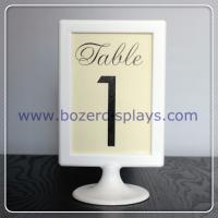 China Table Number Sign on sale