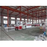 Buy cheap Conical Twin Screw Wood Plastic Composite Machine / PVC Foam Board Extrusion Line product