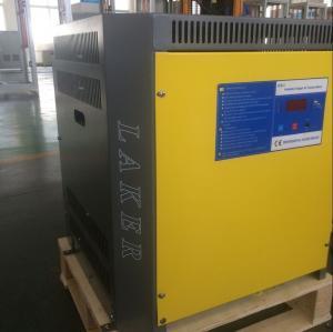 Carregador de bateria da empilhadeira, carregador inteligente, fase de 48V 80A 3, Input-380V