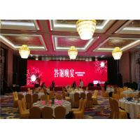 Front Maintenance Indoor Rental LED Screen P2.98 Flexible Led Screen Wall