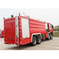 Buy cheap Rear Mounted Pump Airport Fire Truck Low Idle Speed 800rpm Power System product