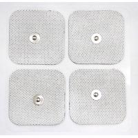 Buy cheap White Cloth Reusable TENS Pads , Self-adhesive Electrode Pads with USA Tyco product