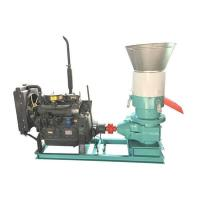 China 350AD Flat Die Pellet Mill with Diesel Engine for Home Use on sale
