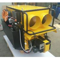 China hotsell model KVH-5000 hot wind output portable waste oil heater on sale